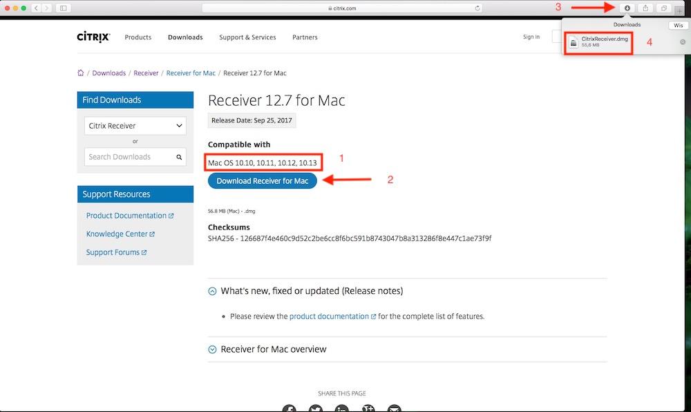download citrix receiver for mac 10.10.5