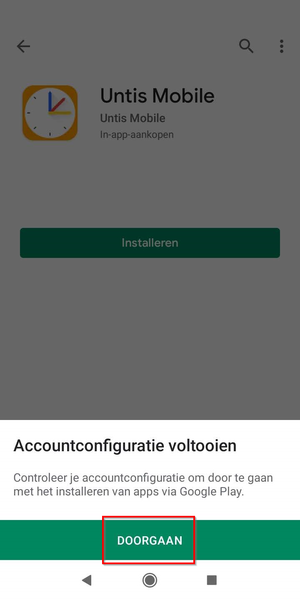 WebUntis Mobile app downloaden en installeren...